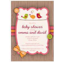 photo baby shower invitation scrapbook image