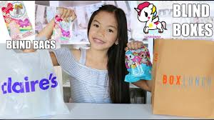 bags of bows claires jojo bows unicorn blind bags