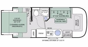 sprinter van conversion floor plans sprinter fifth wheel floor plan particular thor motor coach