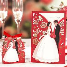 wedding card from groom to groom invitation for wedding wedding invitations and