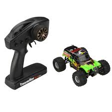 monster jam 1 24 scale trucks 2 4g 1 24th scale rc 4wd electric powered monster truck toys with