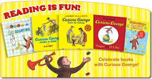 celebrating reading curious george