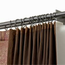 home decorators curtain rods beautiful design home theater curtains full imagas exotic black