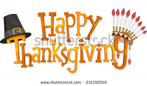 happy thanksgiving banner sign vector illustration stock vector