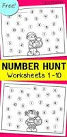 number review worksheets writing numbers number words and ten