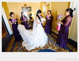 wedding makeup bridesmaid asian white dress purple bridesmaid professional wedding