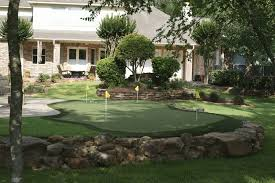 backyard mini golf design and ideas of house