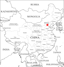 Chinese Map Free Coloring Maps For Kids China Provinces Map Outline