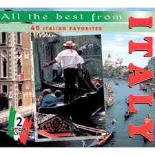 all the best from italy 40 italian favorites various artists