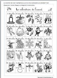 Noel  calendrier de lavent chant et albums bricolages créations