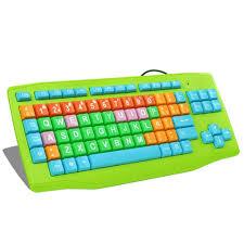 children u0027s cartoon keyboard with big and colorful design keycap
