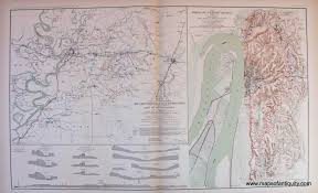 Map Of Lafayette Louisiana by Antique Maps And Charts U2013 Original Vintage Rare Historical