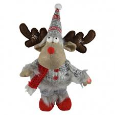 Dancing Reindeer Christmas Decorations by Plush Christmas Decorations U0026 Christmas Animation