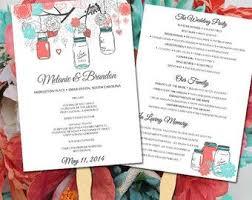 Wedding Fan Programs Diy The 25 Best Diy Wedding Program Fans Ideas On Pinterest