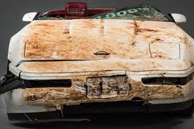 vintage corvette more bad luck for vintage corvette swallowed by sinkhole the verge