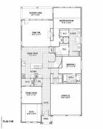 plan 1196 in castle hills northeast 50s american legend homes
