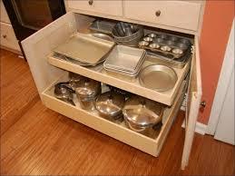 Under Cabinet Organizers Kitchen - kitchen sliding baskets for cabinets pots and pans organizer