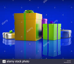 giftboxes celebration meaning wrapped celebrations and present stock
