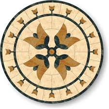 floor medallion 48 flower series marble m004 48 m4m1m5 from