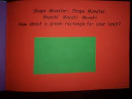 shape monster kindergarten nana