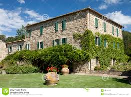 tuscany house stock photos image 34477343