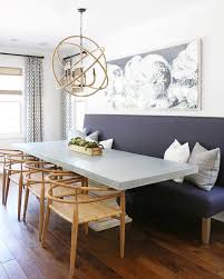 Dining Room Sets With Bench Seating by The 25 Best Sofa Dining Table Ideas On Pinterest