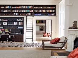 furniture home bookcase with ladder new design modern 2017
