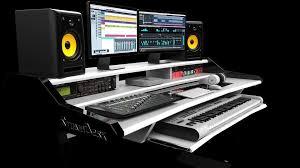 music studio home studiodesk with regard to music studio desk inspirations 1