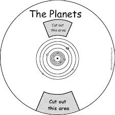 planets word wheel printable worksheet enchantedlearning com