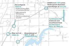 map usa parkway hamilton county road construction us 31 i 69 i 465
