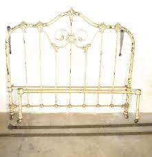 Antique Metal Bed Frame Antique Iron Bed Frame Ebth