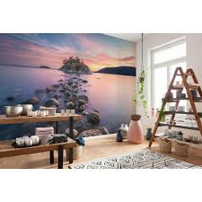 komar nature whytecliff wall mural 8 534 the home depot komar nature whytecliff wall mural