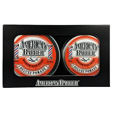 Pomade Import american barber deluxe pomade 50ml 100ml duo pack american
