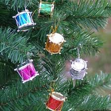 gift tree free shipping malloom drums shaped merry christmas gift tree ornaments home