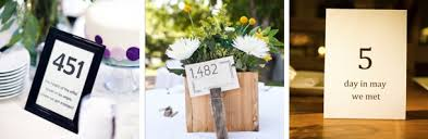 Wedding Table Number Ideas Unique Ideas For Wedding Best Unique Wedding Table Number Ideas