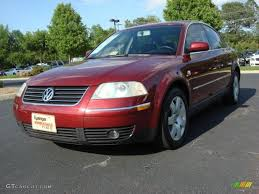 volkswagen colorado 2003 colorado red pearl volkswagen passat glx 4motion sedan