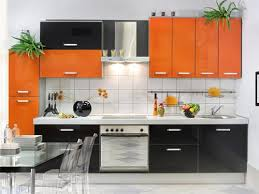 interior design kitchen colors uzumaki interior design kitchen with orange design schemes