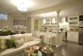attractive basement living room decorating ideas with small