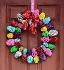pinecone wreath pine cone wreath lots of gorgeous ideas the whoot