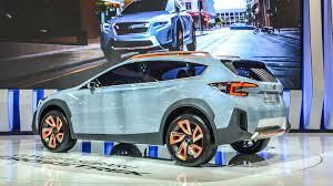 subaru crosstrek matte green subaru crosstrek concept debuts at the 2017 montreal auto show