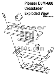dj pro audio u0026 service repairs pioneer djm exploded view