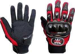 7trees motorbike motocross atv dirt probiker full finger cycling gloves l red buy probiker full