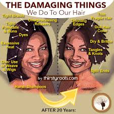 ideas for hairstyles for damaged edges black hair damage the things we do