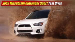 2015 mitsubishi outlander sport test drive youtube