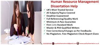 dissertation topics in human resource management dissertation help for writing hr dissertation in uk quality