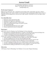 exles of bartender resumes resume exles for bartender server 28 images bartender resume