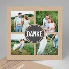 foto dankeskarten hochzeit alle dankeskarten hochzeit kraftpapier design carteland de