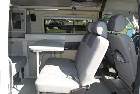 volkswagen eurovan camper handmade penguin blog archive eurovan inside with table close