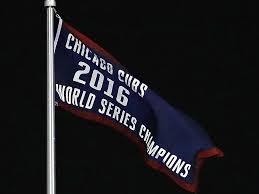 Cubs Flag Chicago Cubs Championship Banner Raised At Wrigley Field Si Com
