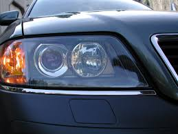 audi rs6 headlights fs pair of audi rs6 headlights with bi xenon projectors and